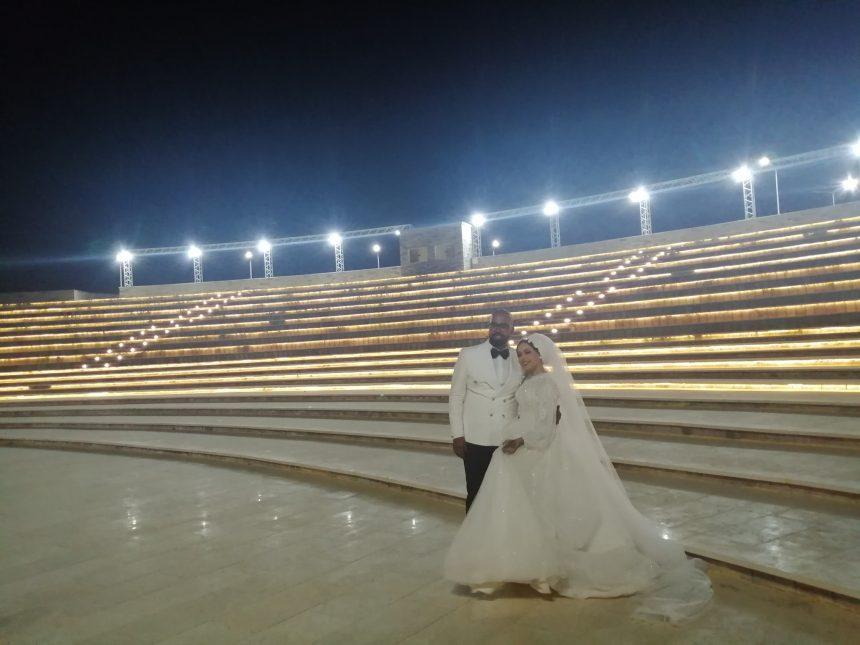 أجمل صور وفوتوسيشن للعرائس بالمركز الثقافي الإفريقي